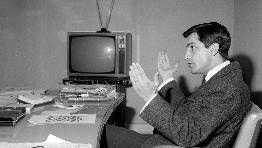 En su etapa como director de TVE.