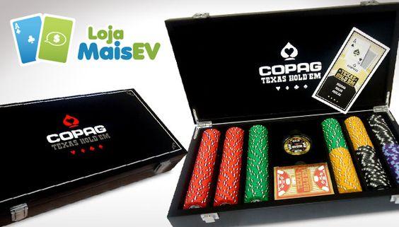 Maleta de Poker na Loja MaisEV