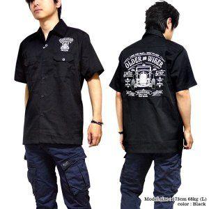 GRMO Men Slim Fit Lapel Long Sleeve Club Embroidery Button Down Dress Shirts