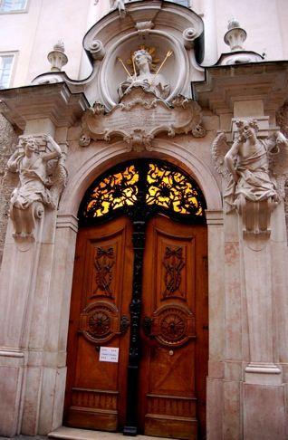 Door to St. Sebastians Church | Flickr - Photo Sharing!  Salzburg