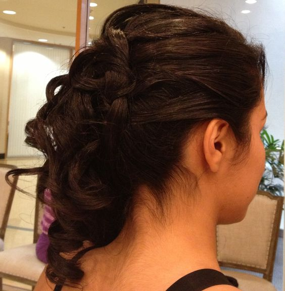 hairstyles for tea party : Sweet 15, Hairstyles and Sweet on Pinterest
