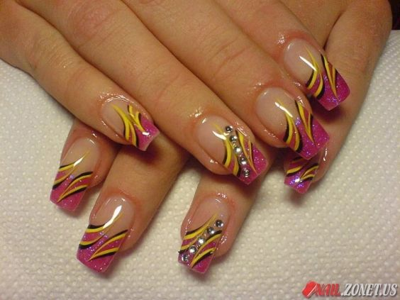 colorful #nails