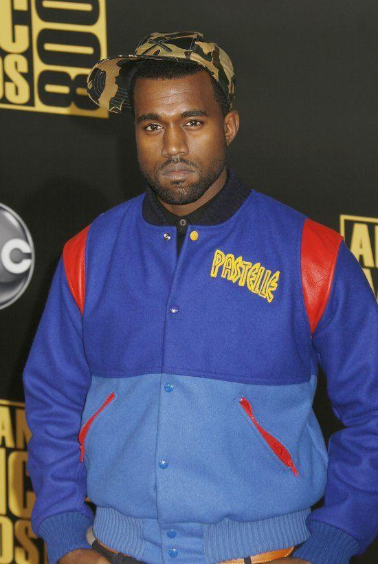 Kanye West Pastelle Rib Knitted Collar Varsity Fleece Jacket Kanye West Varsity Jacket Kanye