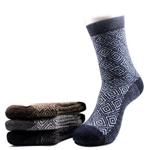 COCO/&HANA 5 Pairs Casual Wool Womens Winter Socks