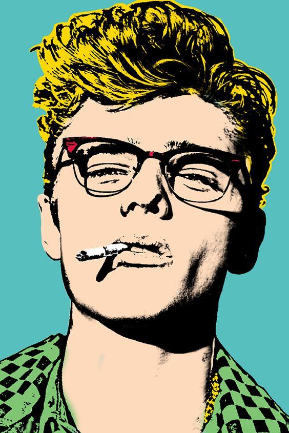 James Dean - Andy Warhol / Behance