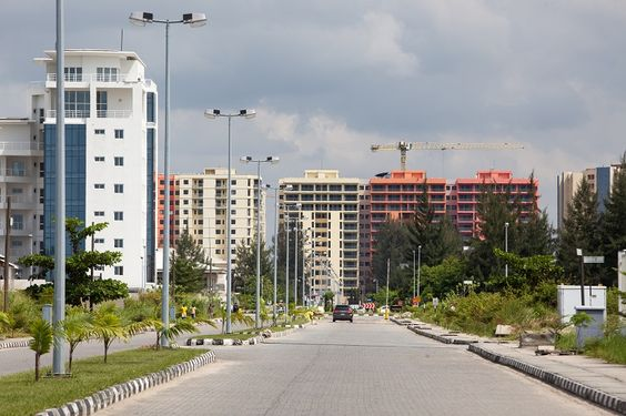 The private upper class compound of Banana Island in Lagos, Nigeria, on May 19th, 2014