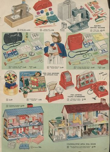 1957 Xx Xx Simpsons Sears Christmas Catalogue P009 By