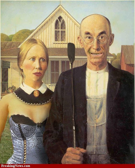 Image detail for -... American Gothic Pictures - Strange Plastic Surgery American Gothic