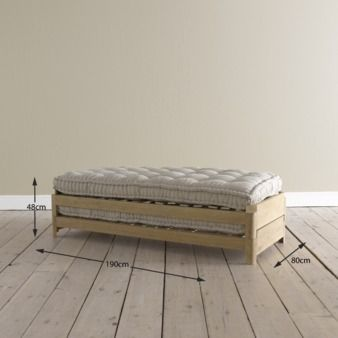 Two pack daybeds and products for Dimensiones cama nido