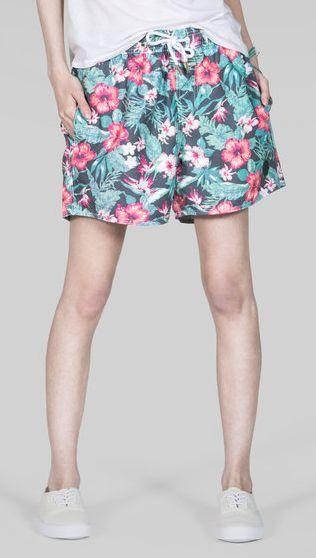 Hella Hibiscus Shorts #wildfang #nativeyouth #floral