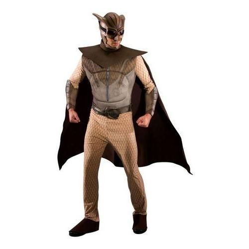 Watchmen Superman Men/'s Adult Mask Muscle Chest Night Owl Halloween Costume L