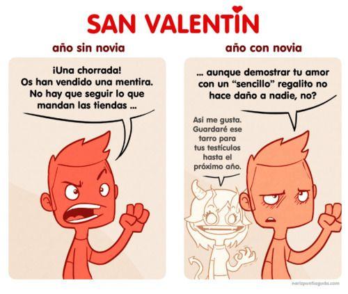 San Valentin (sin y con novia):