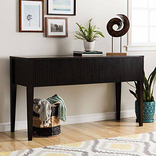Contemporary Console Table Provides Style And Function 60 Inch