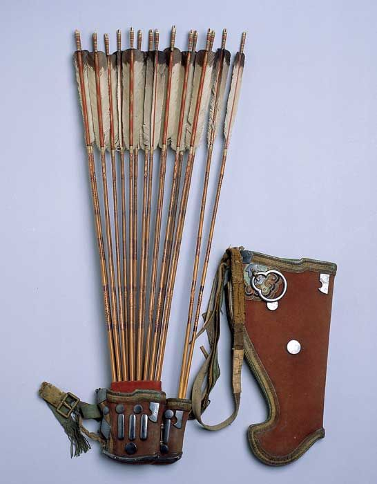 Korean quiver and bow case. | Weapons from around the ...