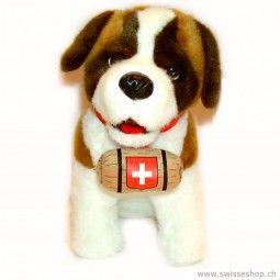Bernhardiner SENIOR 30cm. The bernhardiner is the most famous dog in Switzerland.