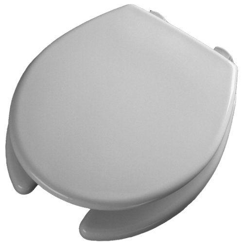 Bemis Medicaid 2 Lift Raised Open Front Plastic Toilet Seat And