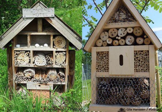 Ein Insektenhotel selber bauen bringt viel Gestaltungsfreiheit.