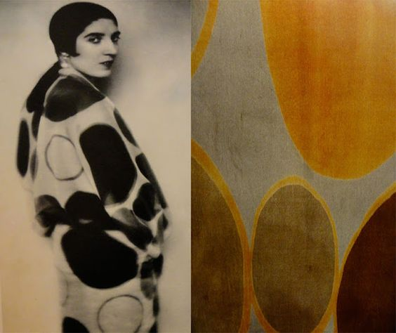 Sonia Delaunay's textile and costume designs
