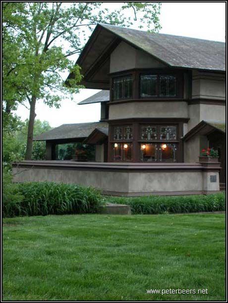 B harley bradley house frank lloyd wright prairie style for Frank lloyd wright prairie house