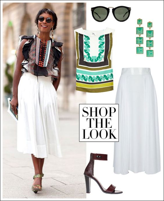 Shala Monroque Gets Gypset Chic