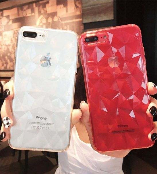 Polygonal Transparent iPhone XS / XS Max / XR Cases in 2019
