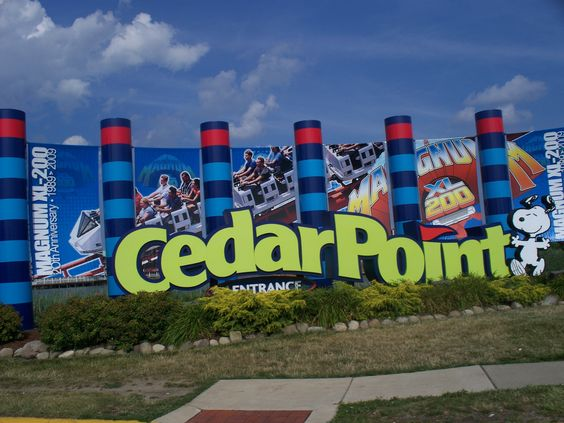 Cedar Point-Sandusky OH  Great amusement park