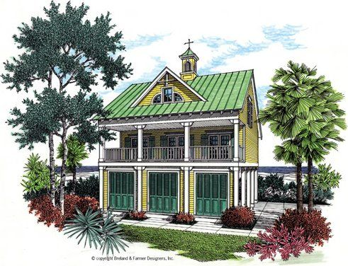 Modular beach homes on pilings coastal house plans at for Beach home plans on pilings