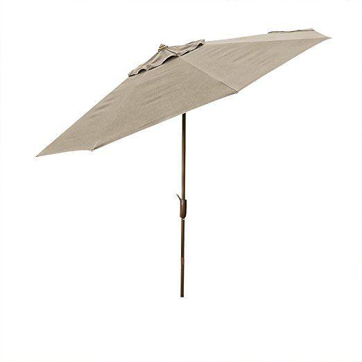 sunbrella 10 ft patio market umbrella