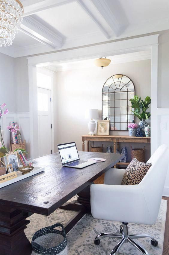 Small Home Office Design Ideas Home Office Workstation Ideas Designing Office Space In Home 2019 Dining Room Office Home Office Decor Home Office Furniture