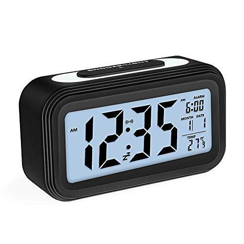 Zorara Réveil électronique Alarm Réveil Matin avec Grand