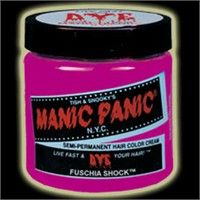 Manic Panic Fucshia Shock Hair Color
