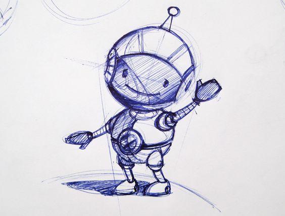 Roboter Maskottchen erstellen