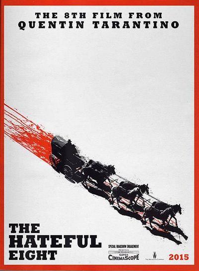 The Hateful Eight - il teaser poster del film di Tarantino