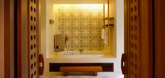 Bathroom in a Residence villa, Sri panwa