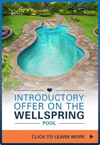 Wellspring fiberglass pool sale pools and hot tubs for Pool design education