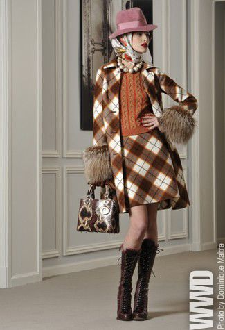 John Galliano took the Duchess of Windsor's legendary style and gave it a youthful spin for his pre-fall Dior collection.