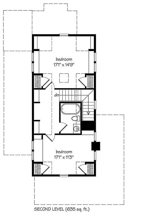 small cottage plans upstairs farmhouse style! | houses i like