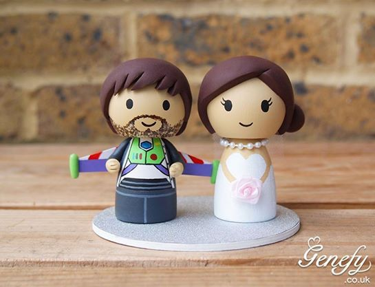 Buzz Lightyear groom and bride by Genefy Playground https://www.facebook.com/genefyplayground: