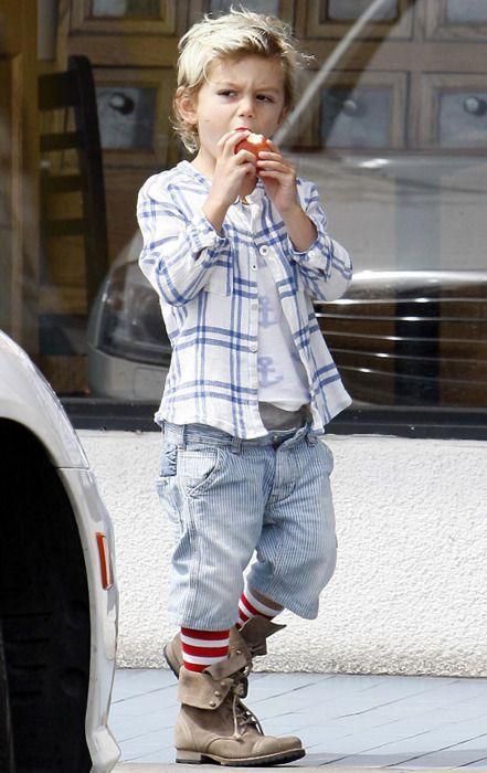 This boy's got style!