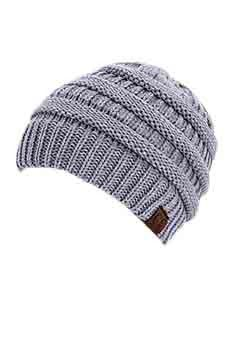 Knits Been A Pleasure Beanie in Grey
