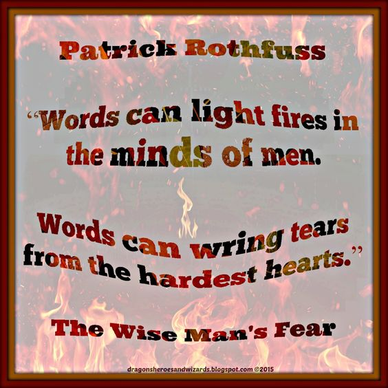 Wise Man 39 S Fear Quotes