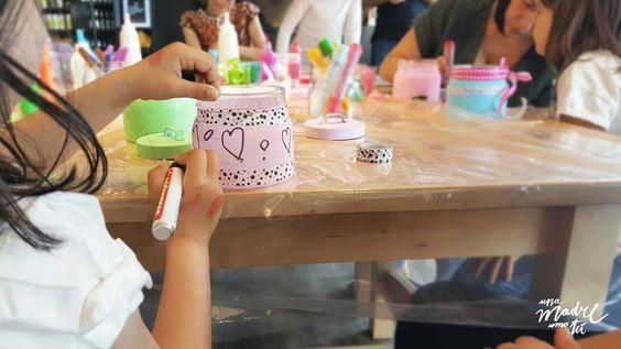 Cómo decorar y reciclar botes de cristal, metal o plástico. Chalk paint + tu imaginación = ¡resultado fabuloso!