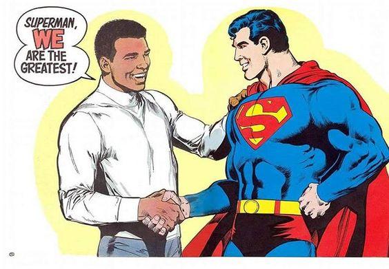 """Happy Birthday Muhammad Ali! """"If your dreams don't scare you, they aren't big enough."""" / """"Se os seus sonhos não te assustam, eles não são grandes o suficiente"""" - Muhammad Ali."""