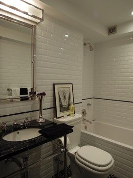 Secondary Bathroom - traditional - bathroom - new york - BuiltIN studio