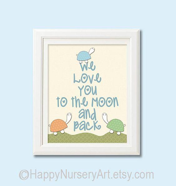 baby girl wall art nursery decoration love you by HappyNurseryArt, $15.00
