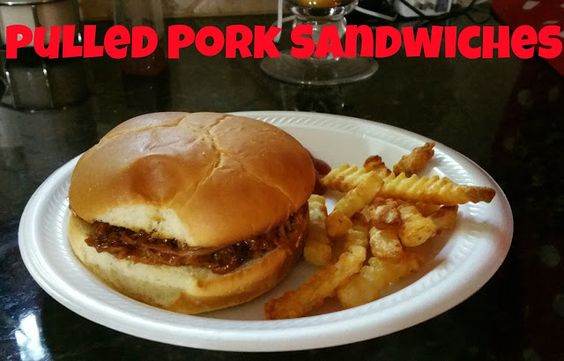 The Horton Family: Pulled Pork Sandwiches: