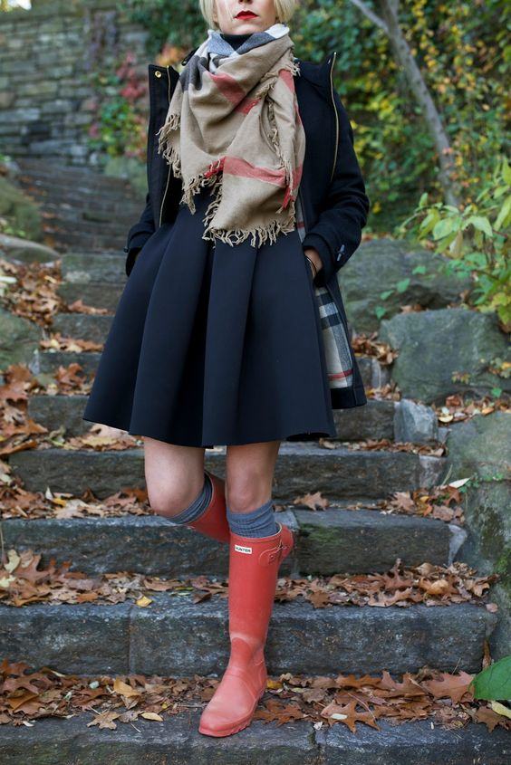 Coat: Burberry (also love this one and this one). Boots: Hunter (short here and packable here). Dress: Tibi (similar). Scarf: Burberry. Sunglasses: Thierry Lasry. Lips: Stila 'Beso'. Thank you to Nordstrom for partnering on this...Read More