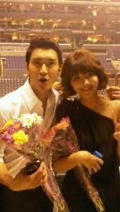 Choi Siwon is friends with Choi Sooyoung :)