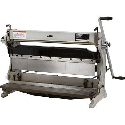 Klutch 3 In 1 Combination Sheet Metal Machine 30in In 2020 Sheet Metal Shear Sheet Metal Diy Cnc Router