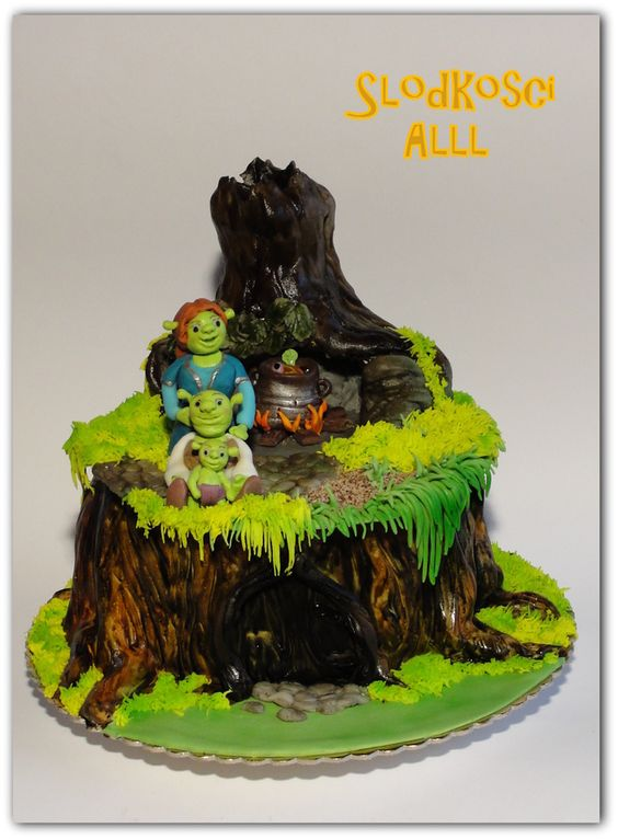 Shrek Cake Cakes Cupcakes Truffles And Cake Pops Tips